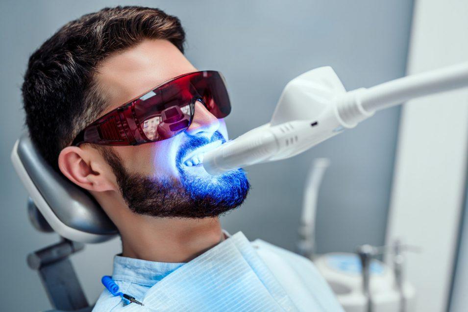 Teeth whitening offered at Preston Family Dental